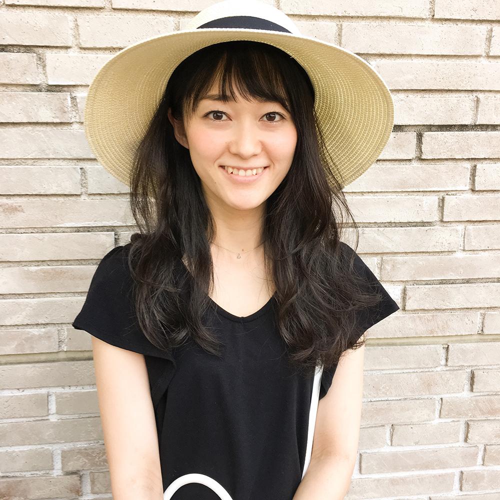 夏っぽいショートバング × ニュアンスヘアー