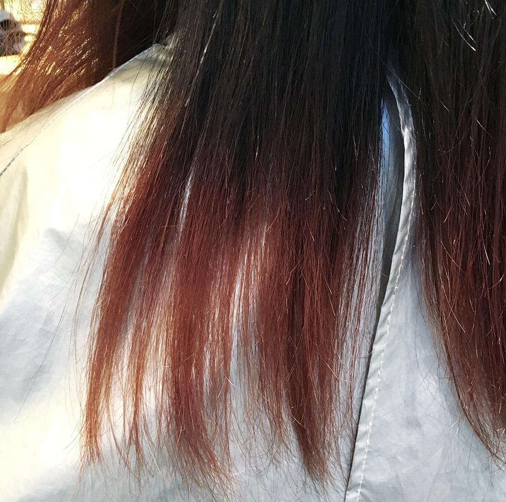 【11日間でカラー3変化】ピンクグラデーションカラー