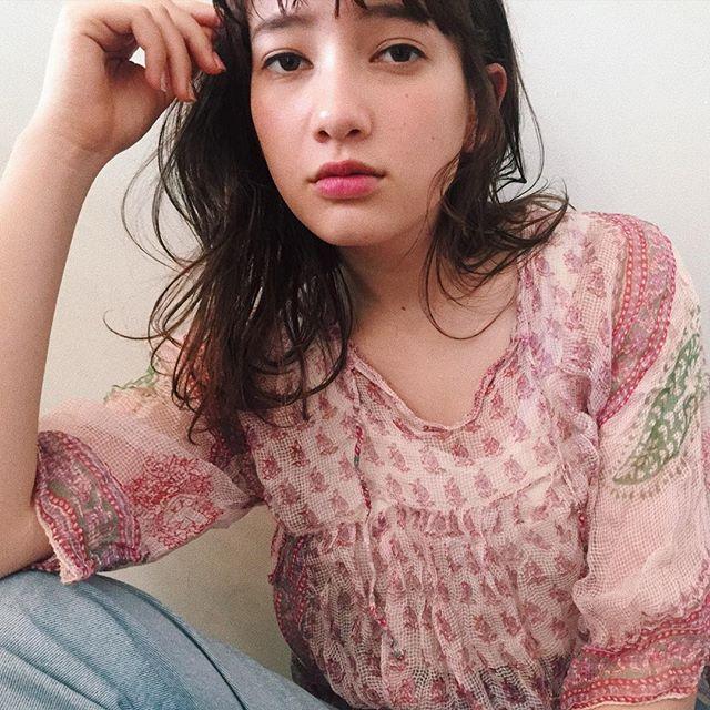 AnZie前坂美来乃ニュアンスヘア