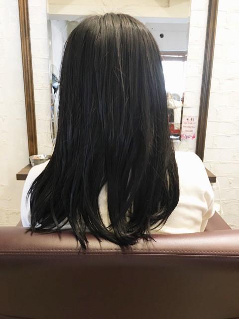 ケイコちゃんの髪