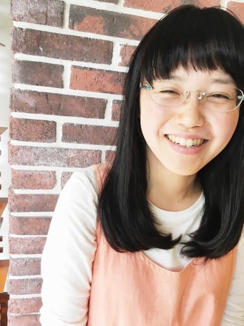 笑顔のケイコちゃん