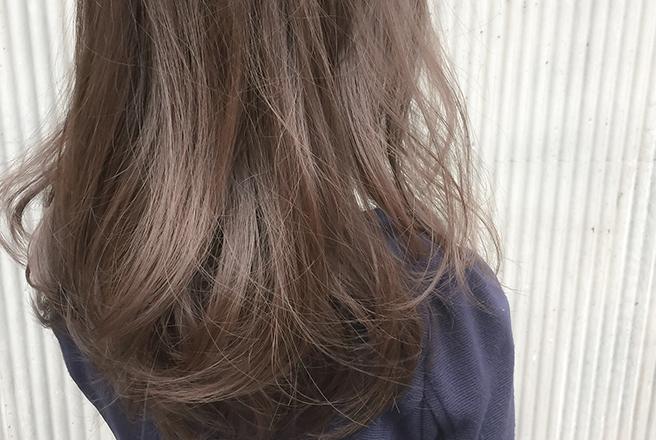 髪のベースづくり