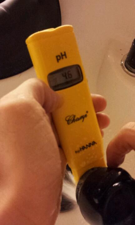 炭酸泉のpH