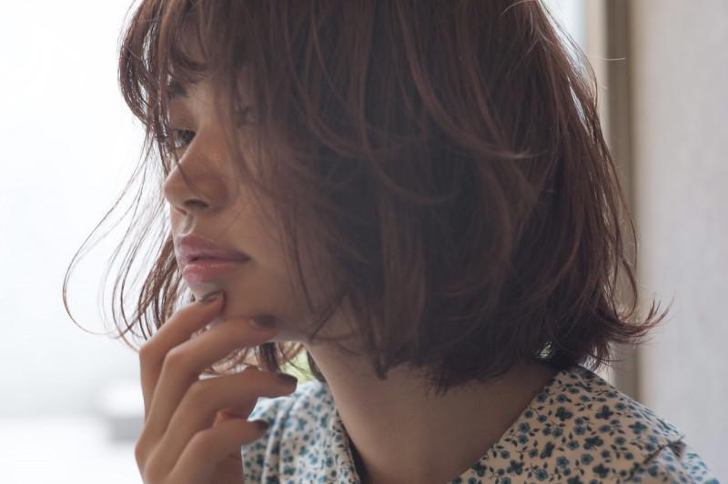 AnZie_坂狩_毛先だけパーマ_ヘアアレンジ髪6