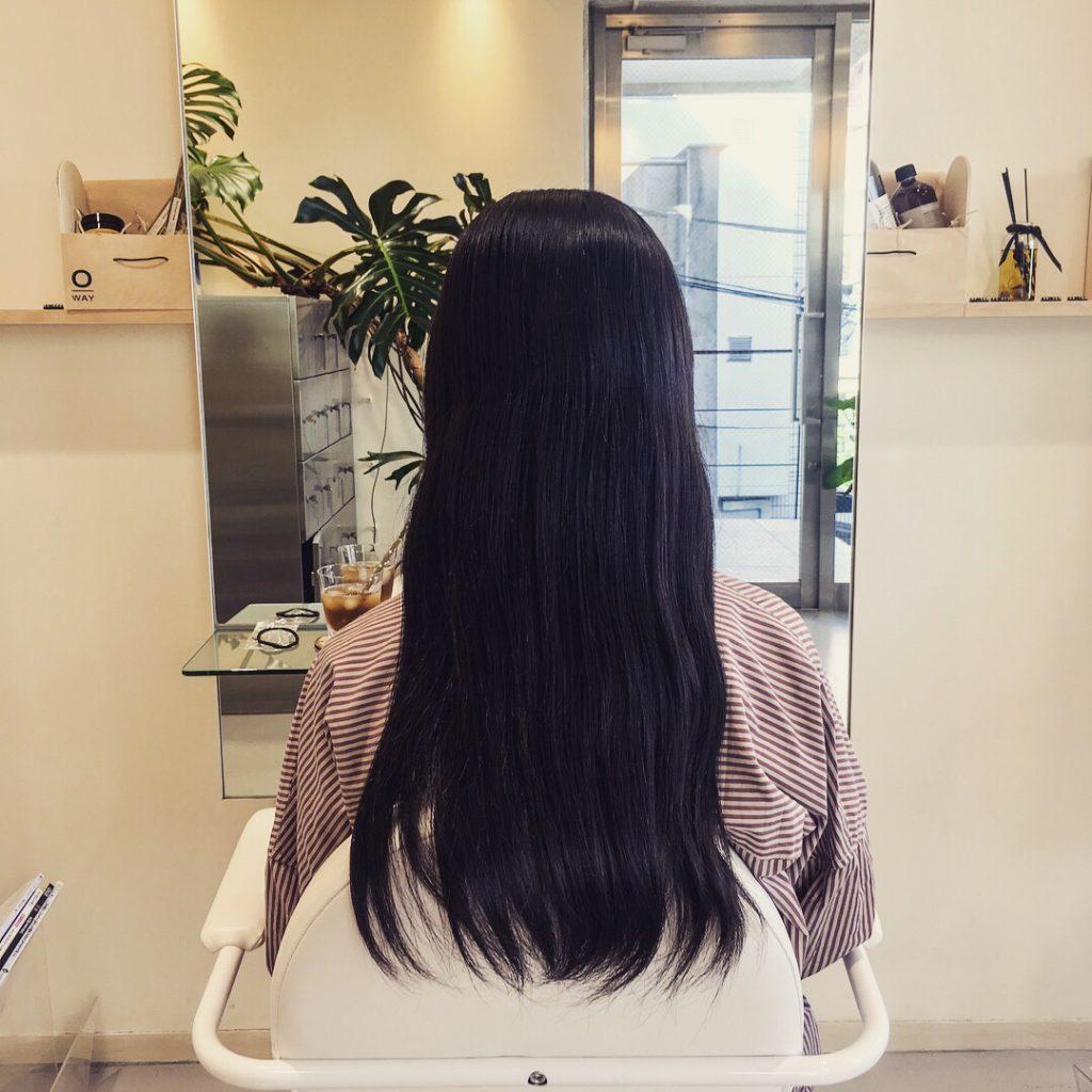 ヘアドネーションのために伸ばした髪