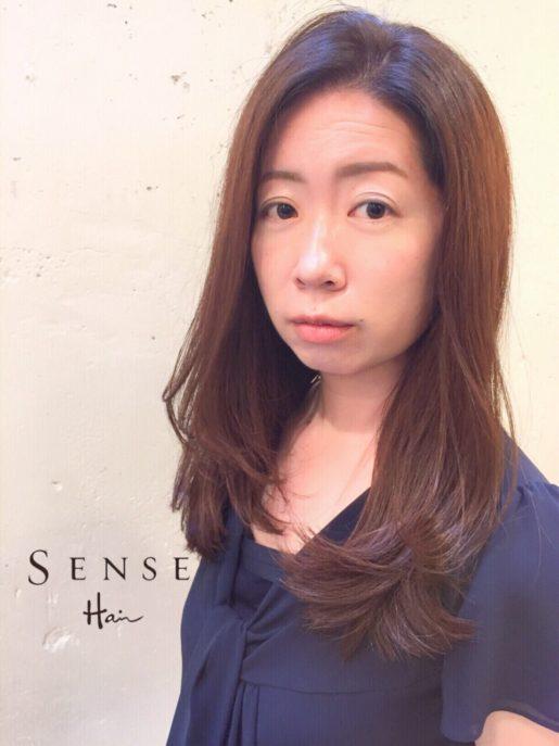 SENSEHair 中島 ロングヘア 色気 垢抜け 白髪 10
