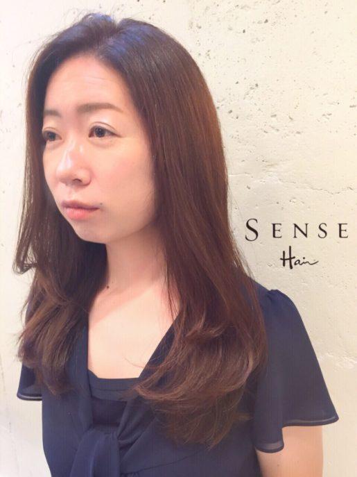 SENSEHair 中島 ロングヘア 色気 垢抜け 白髪 12