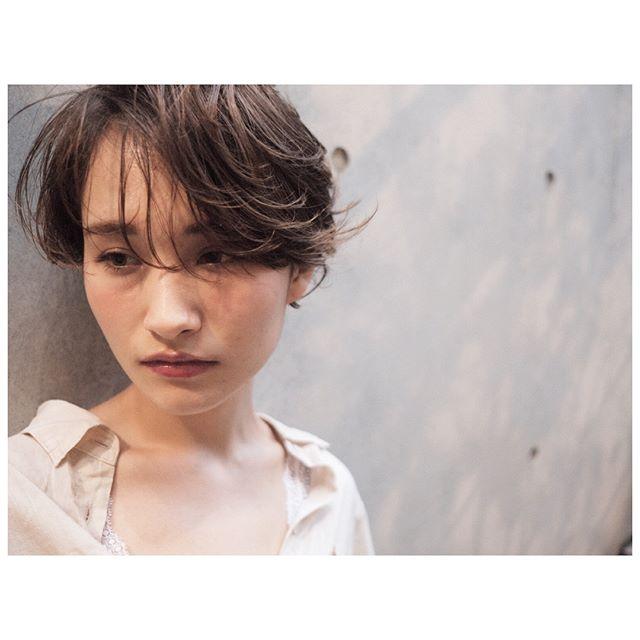AnZie_坂狩_毛先だけパーマ_色気カール_ショート_1