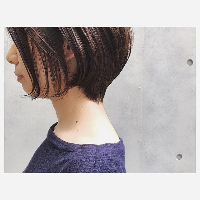 AnZie_坂狩_毛先だけパーマ_色気カール_ショート_3