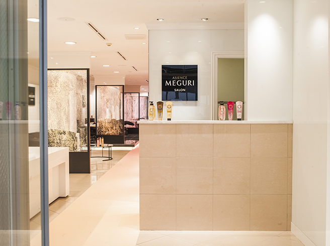 「ASIENCE MEGURI SALON」受付