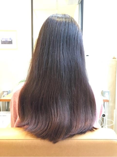 一見、とってもキレイに見える髪