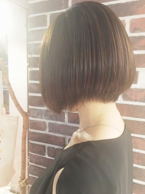 美髪になったノリコさん