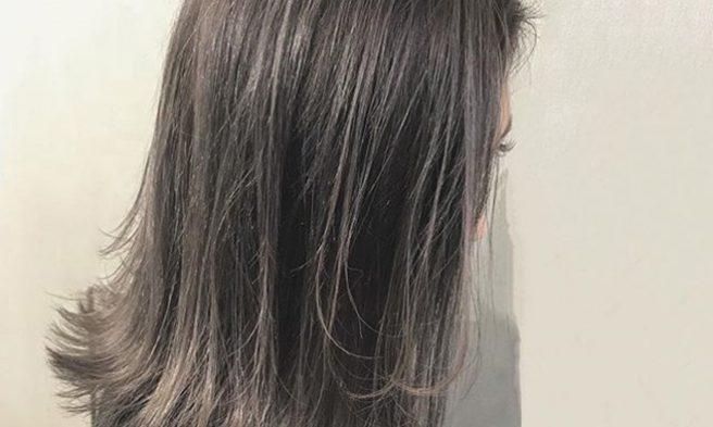 ALIVE まっぴ イケメンクリップ ハイライト グラデーションカラー 暗め透け感カラー