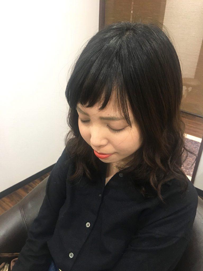 GULGUL表参道店 平石千波さん 個室型美容室 プロジェクションマッピング