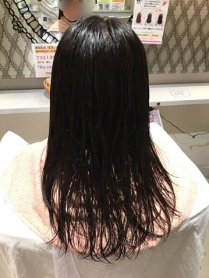 Beautism 日置 黒髪 動く髪 揺れる髪 パーマ 毛先パーマ