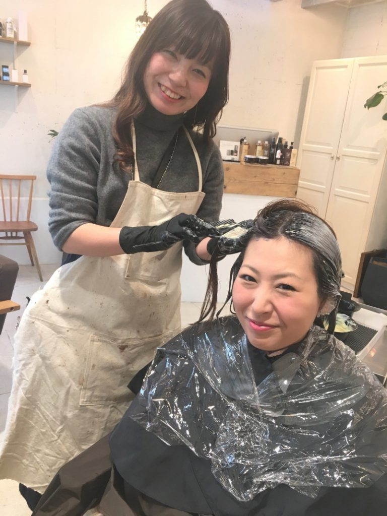 SENSEHair 宮本春菜 伸ばし中のミディアム レイヤー ヘアアレンジ スタイリング