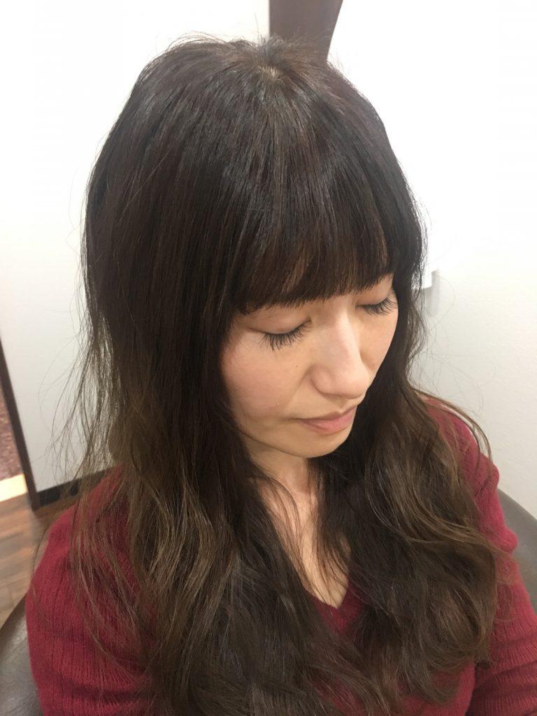 GULGUL表参道店 平石千波さん 個室型美容室 プロジェクションマッピング 小顔 前髪カット