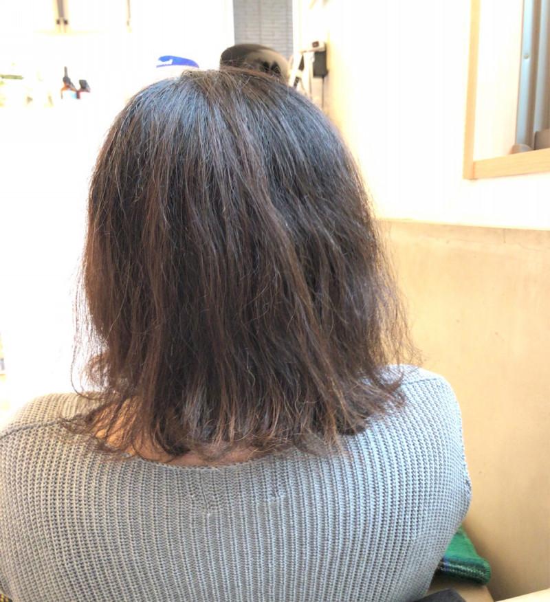 チリチリ毛 うねり クセ毛 美容師 代官山 リモア
