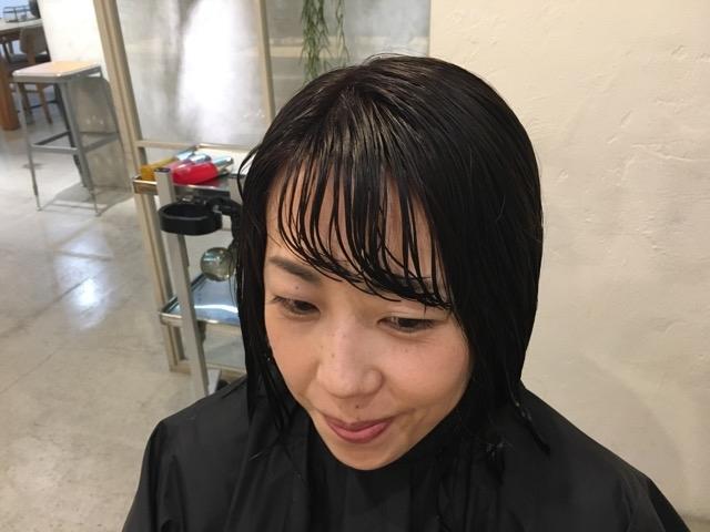 前髪 前髪カット 前髪パーマ 梅雨 湿気