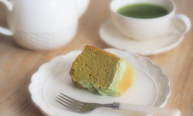クリップクリップ グルテンフリースイーツ グルテンフリー グルテンフリー生活 レシピ ヘルシースイーツ 緑茶 きな粉 米粉シフォンケーキ