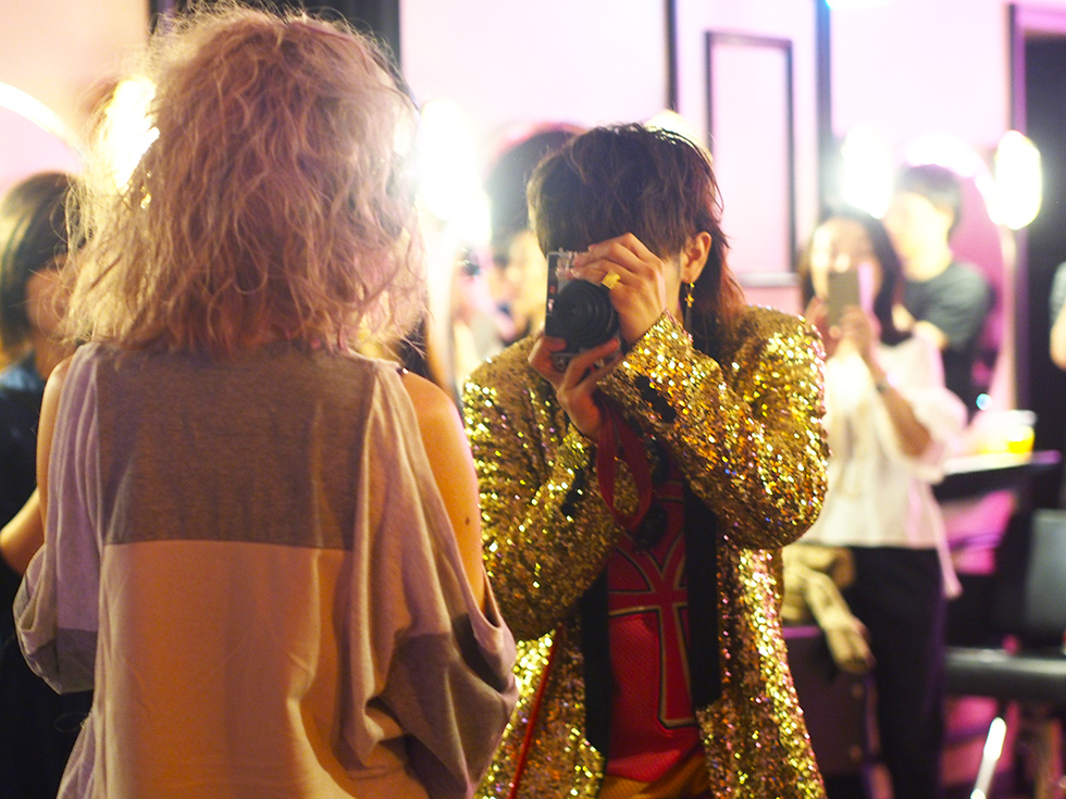 銀座 FILMORMALE フィルモルメール ファッションイベント フィルモナイト カメラマン Junpei Ihara ヘアショー