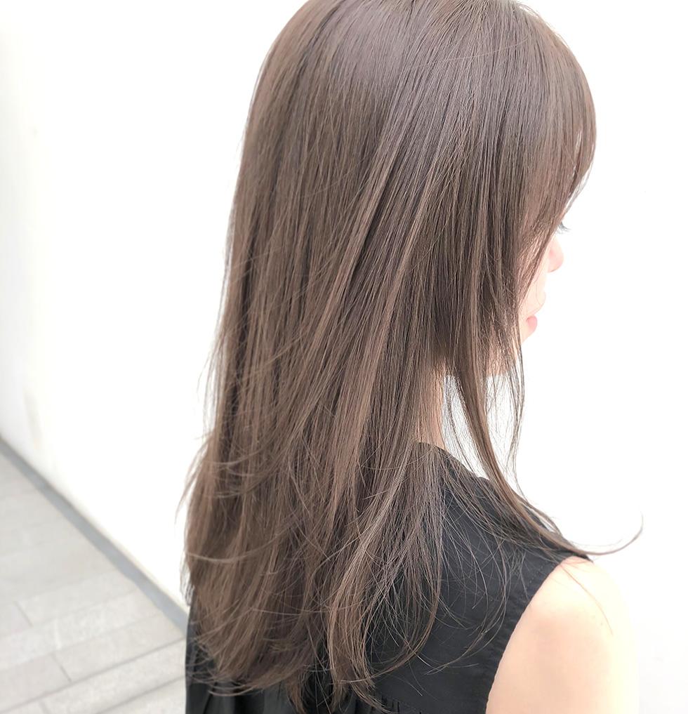 髪の紫外線対策ホリスティックカラー