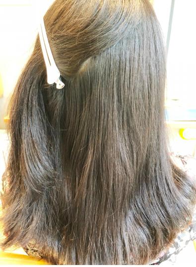 代官山limoa 森山 チリチリ毛