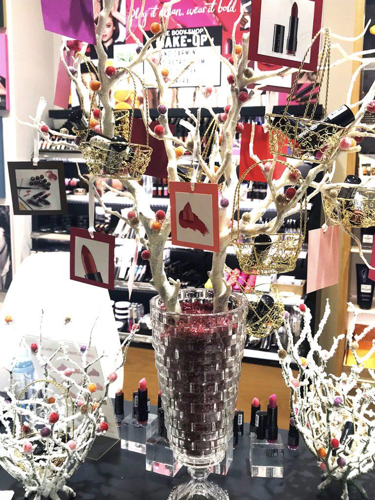ザボディショップ渋谷 リニューアル クリスマスギフト