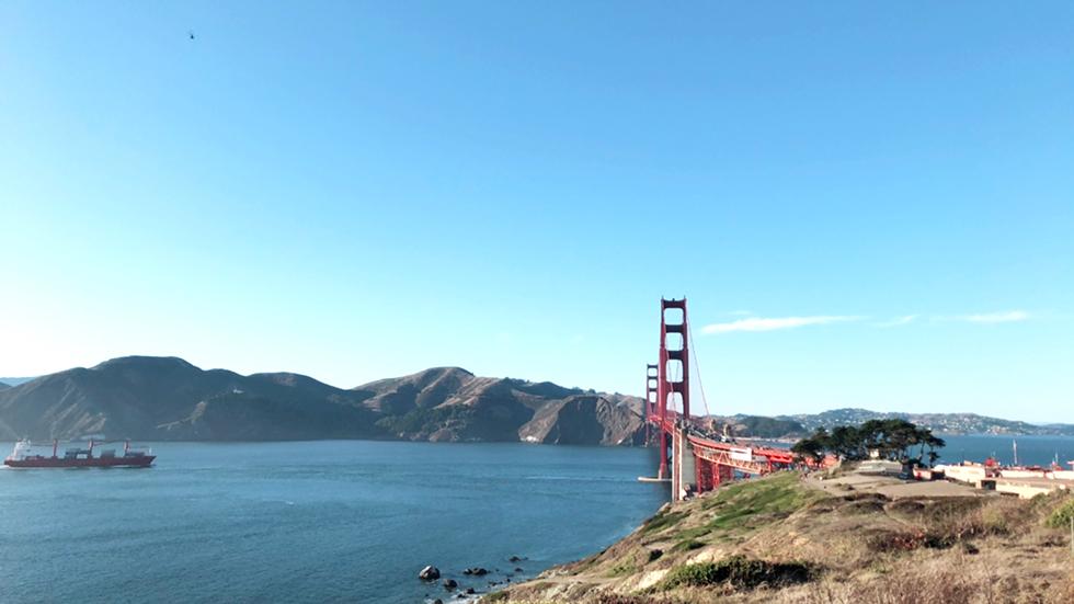 サンフランシスコ ゴールデンゲートブリッジ
