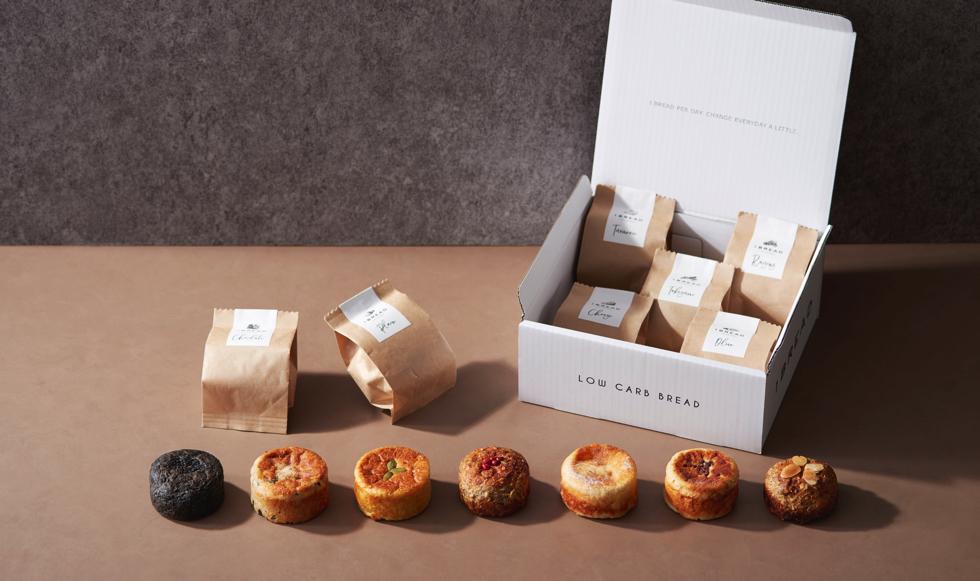 日本初の低糖質アーモンドパン専門店「1BREAD」
