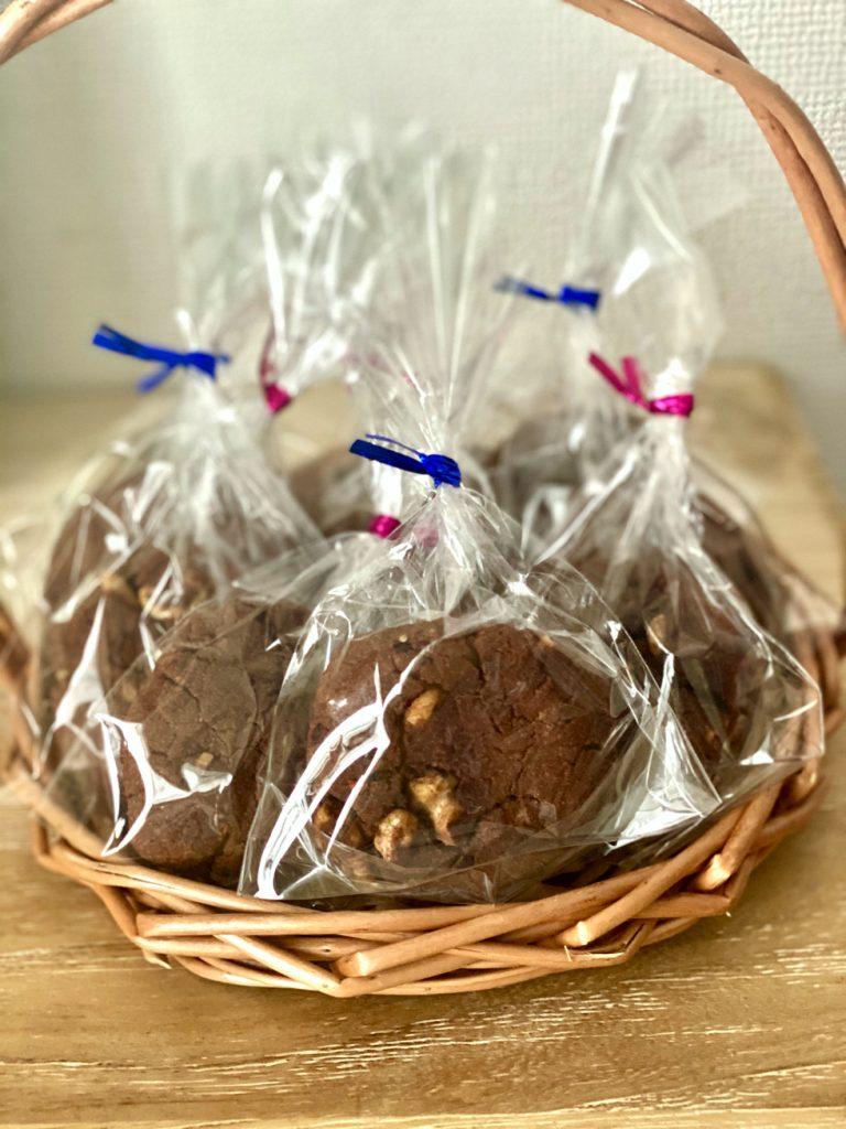 グルテンフリー チョコレートクッキー