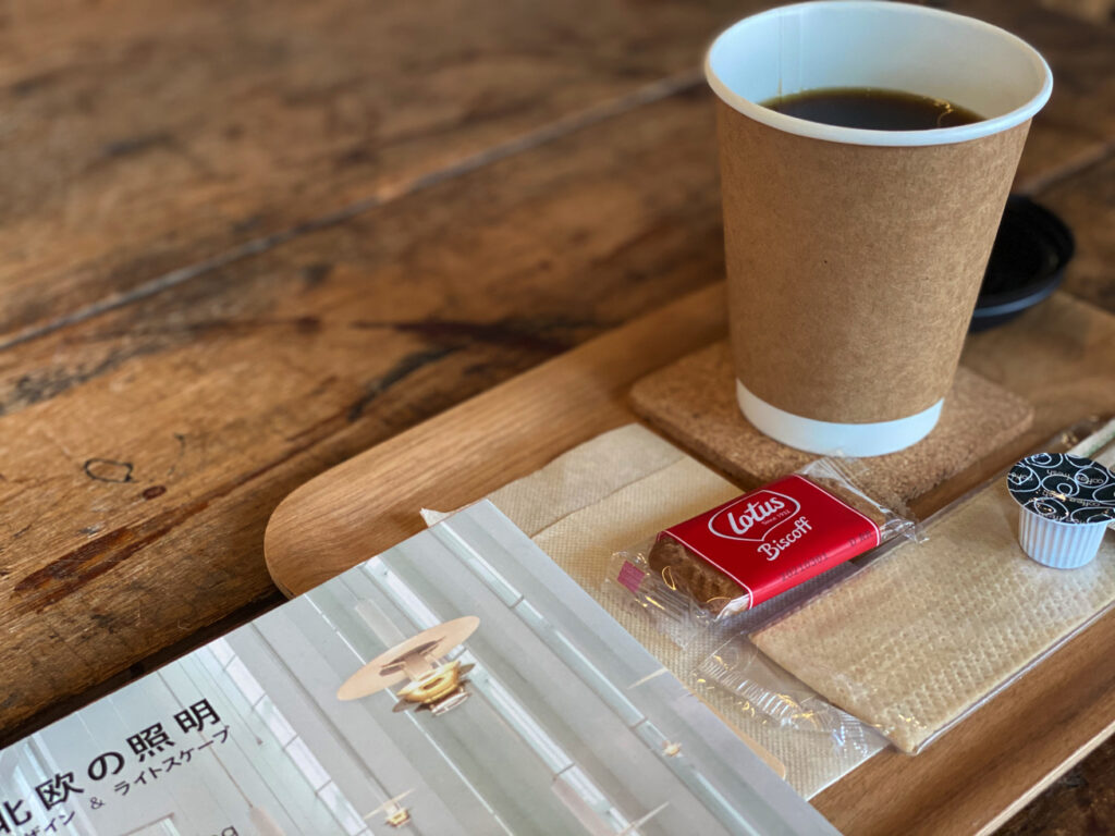 文京区白山ブックカフェplateau books オリジナルブレンドコーヒー