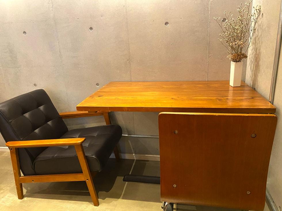 駒込カフェ middle garden coffee stand 座席