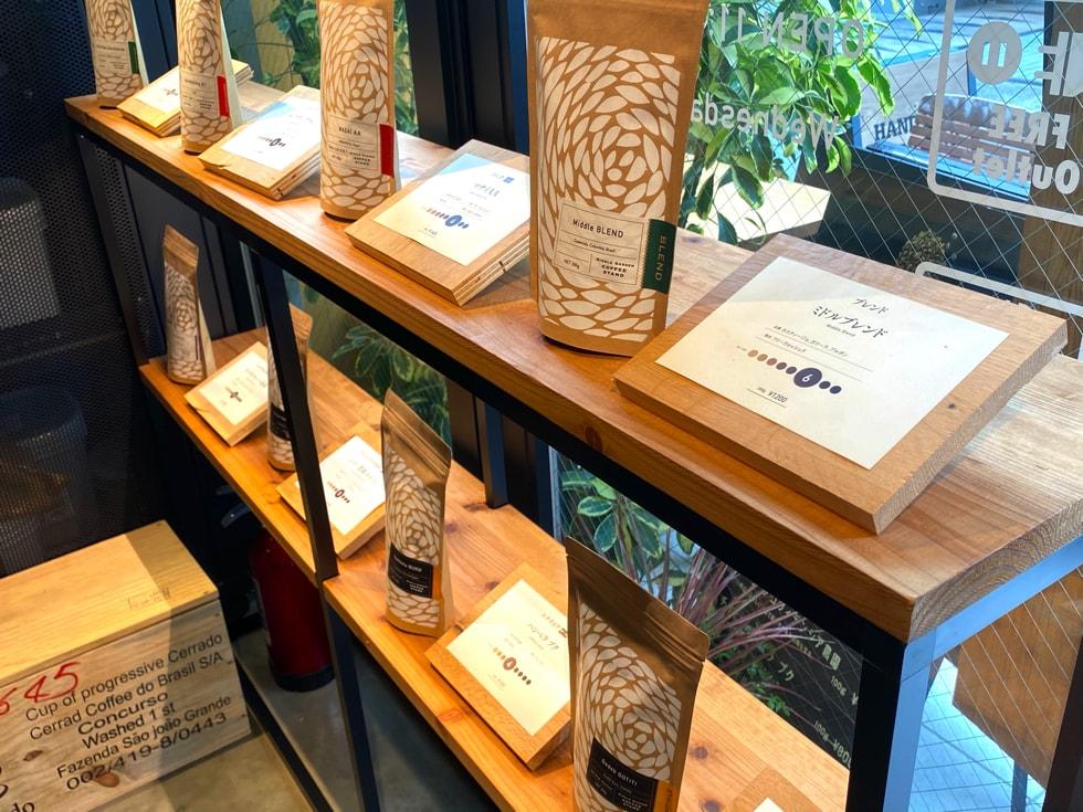 駒込カフェ middle garden coffee stand 焙煎珈琲