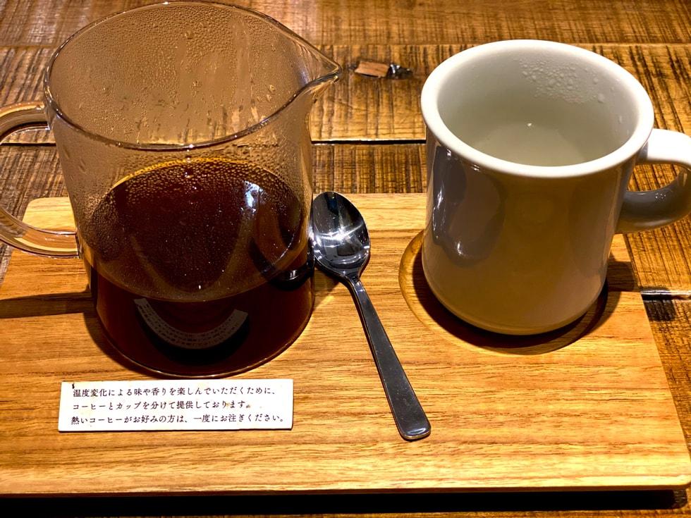 駒込カフェ middle garden coffee stand エチオピア