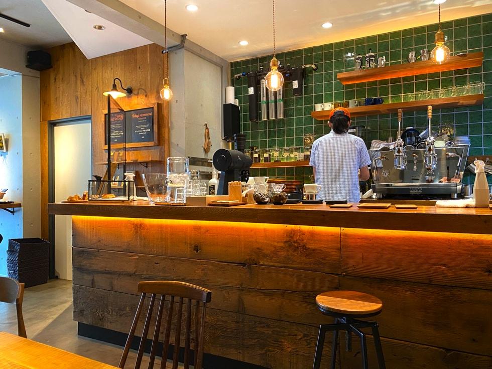 駒込カフェ middle garden coffee stand ミドルガーデンコーヒースタンド