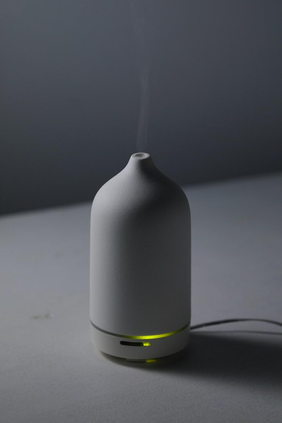 セラミック製アロマディフューザーLagoon(ラグーン) 天然アロマオイル