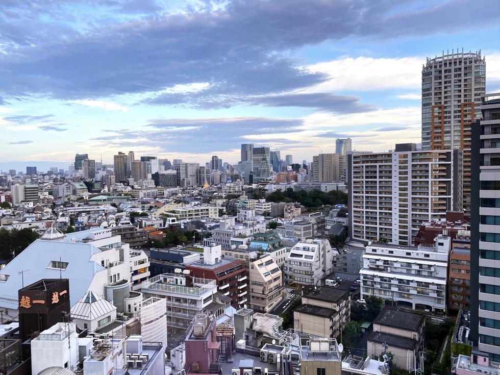 ホテル「sequence MIYASHITA PARK」渋谷 眺め