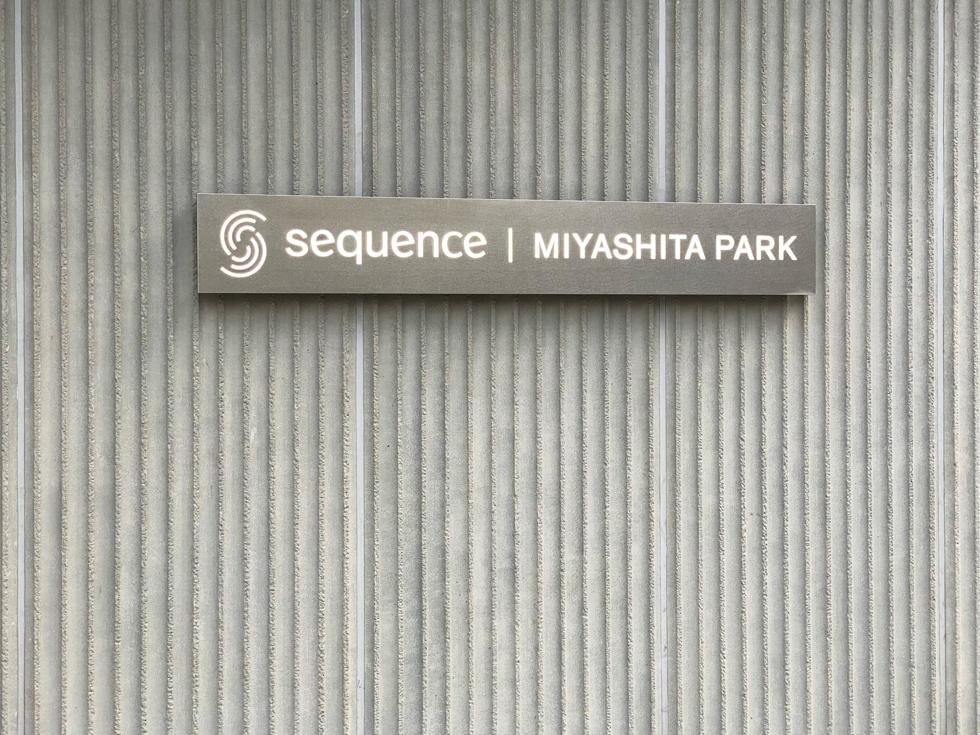 sequence MIYASHITA PARK