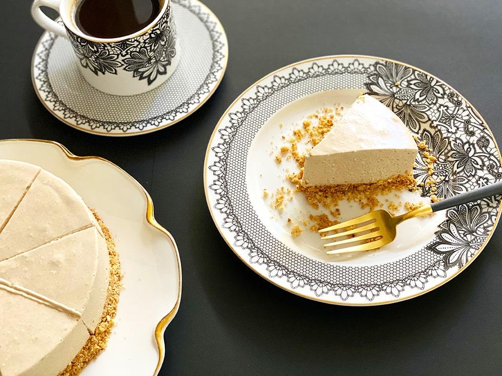 グルテンフリー シナモンチーズケーキ