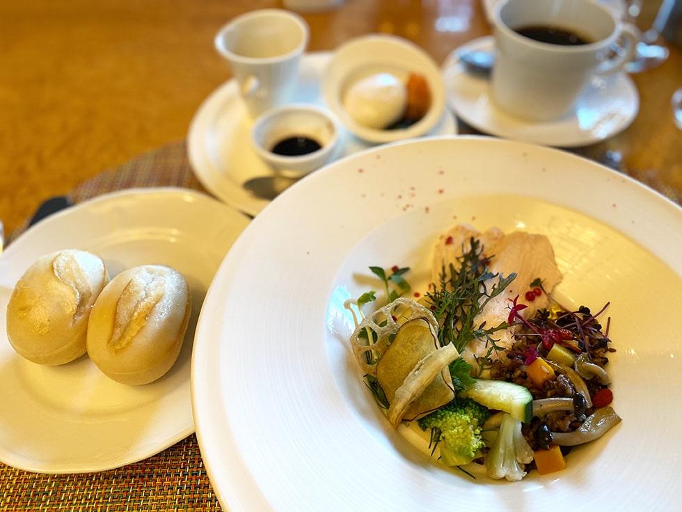 ステイケーション@ホテル椿山荘東京 朝食 オールタナティブ・ブレックファースト