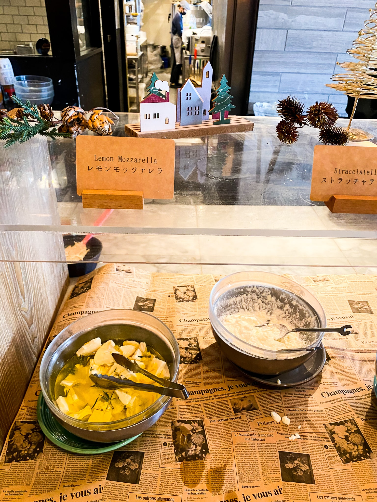 「フレッシュチーズ食べ放題」goodspoon チーズ