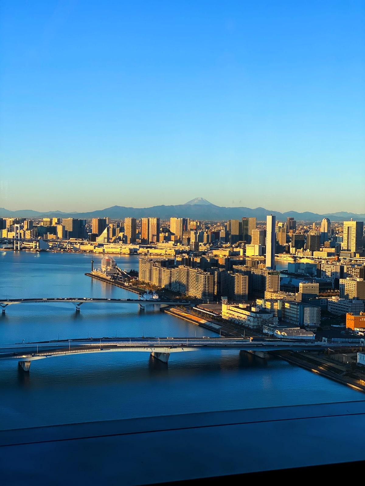 三井ガーデンホテル豊洲ベイサイドクロス 富士山