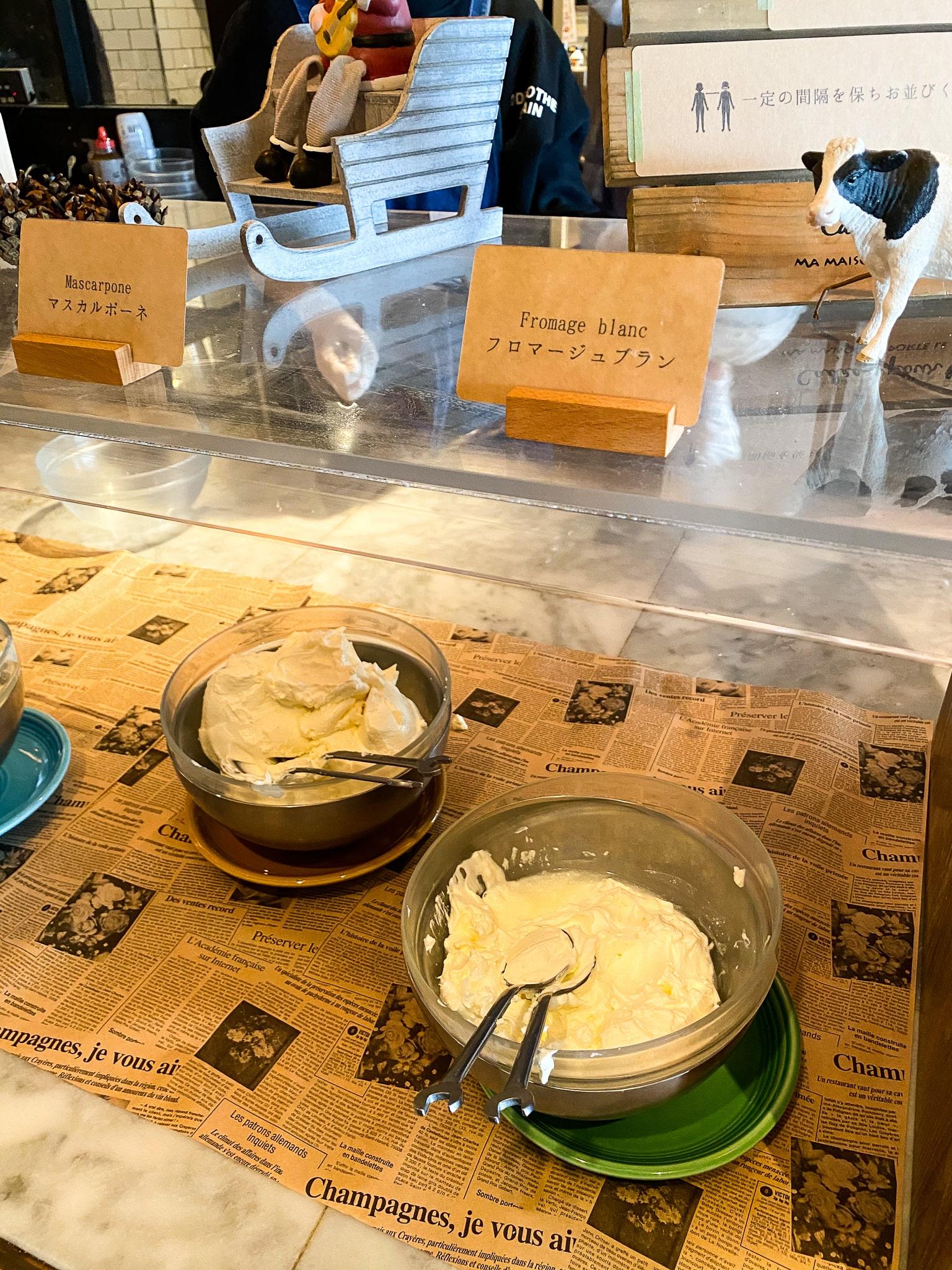 「フレッシュチーズ食べ放題」goodspoon フロマージュブラン