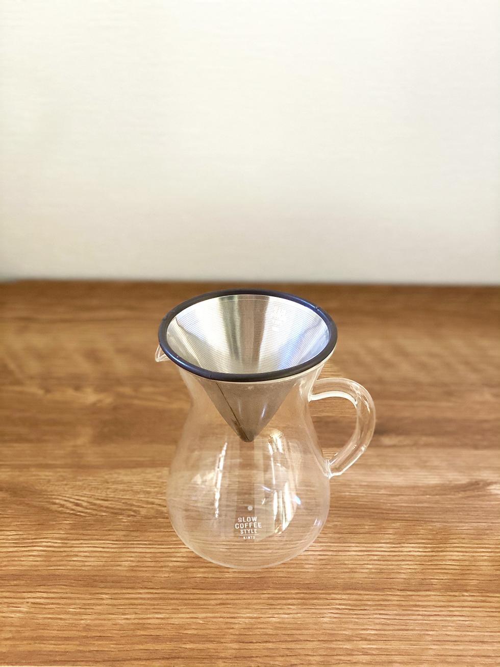KINTO コーヒーカラフェセット 2cups ステンレス