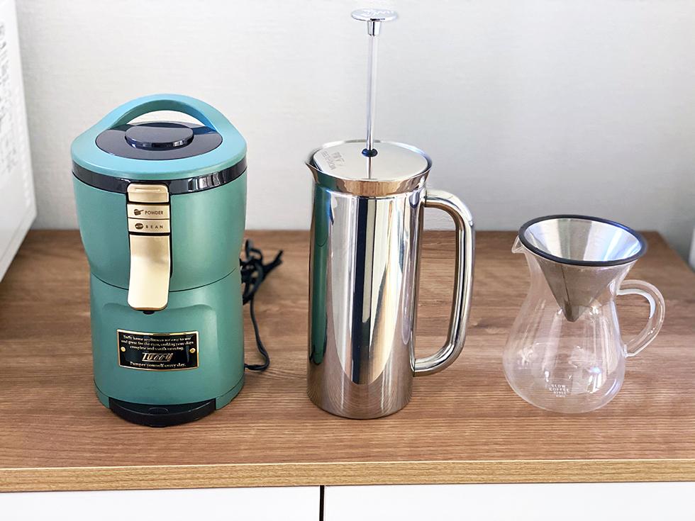 コーヒーマシーン フレンチプレス