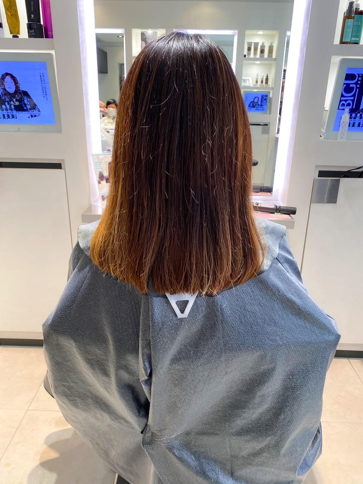 髪質改善トリートメント link