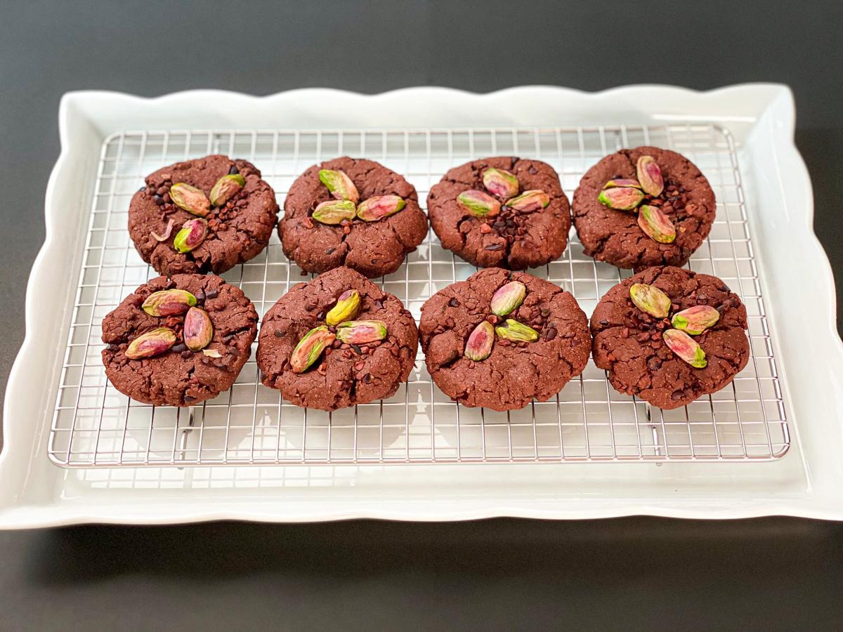 低糖質グルテンフリー チョコレートクッキー