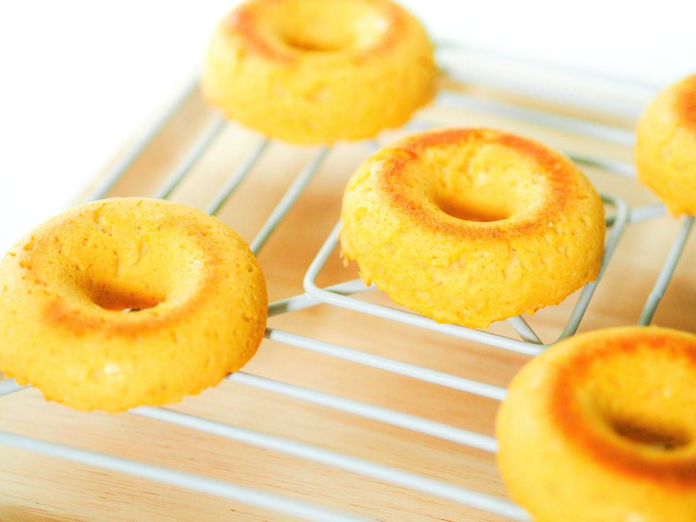 低糖質グルテンフリー焼きドーナツ