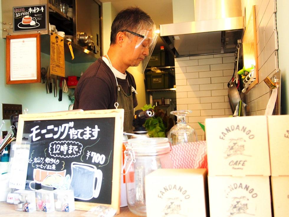 CAFE FANDANGO 逗子朝ごはん